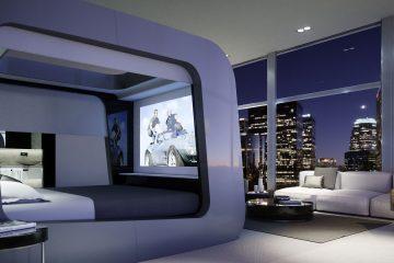 cama con tecnología