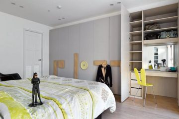 cuarto recién remodelado