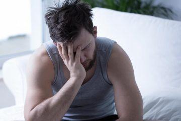 hombre somnoliento