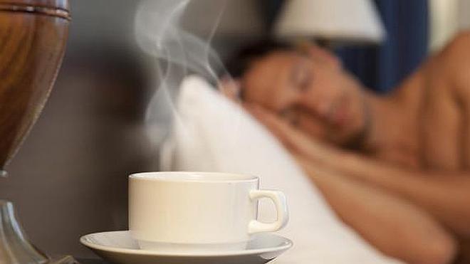 tomar para una siesta de café